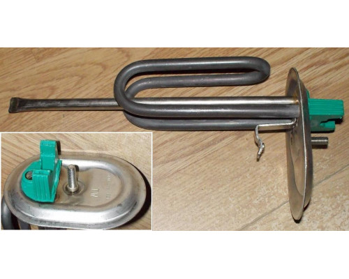 Тэн для водонагревателя 1200w, 230v, RASP, на овальном фланц...