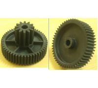 Шестерня Moulinex/Tefal, D=65/25.5mm, H41/16, отв.-8mm, зуб-12/52шт., зам. MS-4775456, MS014, TF007, 010160K z25.012-ML