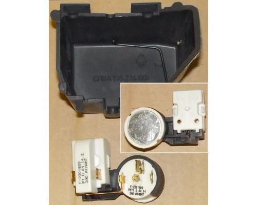 Реле компрессора, пусковое РКТ-1 +крышка +скоба.пружинка, ат...