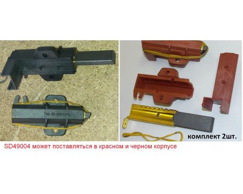 Щетки мотора ЧЕРН-КРАСН.(5x13.5x40_SN) в каркасе-2шт-/ (кита...