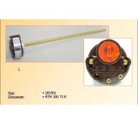 Термостат для водонагревателя  RTM 300 FF_73°C (15A-250V), круглый с термошкалой, РАСПРОДАЖА зам.181501; 39cu013, CU4804, WTH403UN t.3412185