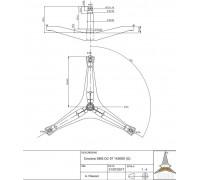 Крестовина барабана SAMS DC97-14369D cod756