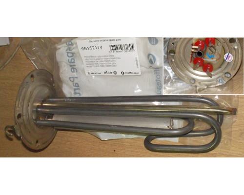 Тэн для водонагревателя1000+1500W 230V D-125, зам. 65180097,...