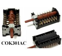 Переключатель духовки GOTTAK 7-поз., Шток-23mm, BEKO b263900054, b263900018 COK301AC