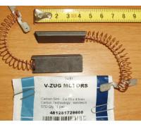 Щетки Эл.двиг.(5x15x43)-2шт, V-ZUG 481281729605