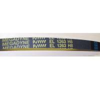 Ремень 1263 H8 EL <1214mm> черн. megadyne (481281718179), зам. C00377897, 481281718179 WN726