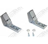 Крепеж-шарнир для ручки двери холодильника (компл. 2шт.), замена LBH9590178, DHF200LB, DHF201LB 35Li001