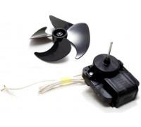 Мотор Вентилятор с крыльчаткой (d-3,17mm, 220-240V, 50/60Hz, Fan: 100mm.), зам.481936170011, MTF720RF, L851102, 16vn23, FR2815 MTF703RF