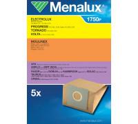 Мешки Menalux 1750P, Бумажные, для пылесоса Electrolux, Moulinex, Rowenta, Hoover. (5-пылесборников) 9001664193