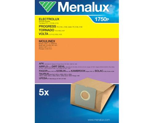Мешки Menalux 1750P, Бумажные, для пылесоса Electrolux, Moul...