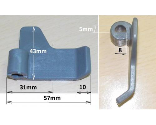 Лопатка хлебопечки LG (не оригинал) термопластик, зам. LG330...