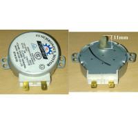 Мотор привода тарелки СВЧ (TYJ50-8A7) шток-11mm MA0908W