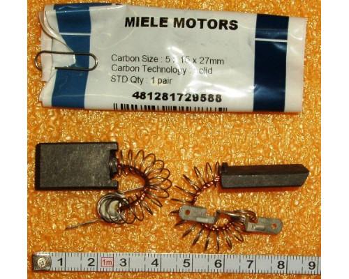 Щетки Эл.двиг.(5x15x27, k4.8mm) Miele1-RI222522, замена48128...