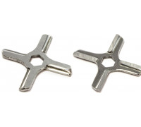 Нож для мясорубки MOULINEX-шестигр, D46.6mm, под шток3.2mm, зам. MM0105W, MS-4775250, N433 MGR103UN