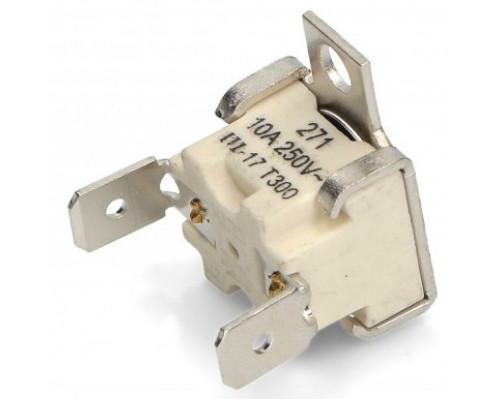 Термостат защитный для духовки T300, 10A, 250V cebi-elth 357...