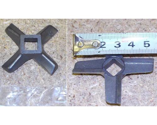 Нож для мясорубки Zelmer №8, односторонний, зам. ZL005, MGR1...