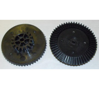 Шестерня мясорубки Ротор, черная большая D=83/38, H21 (коническая) SRT083