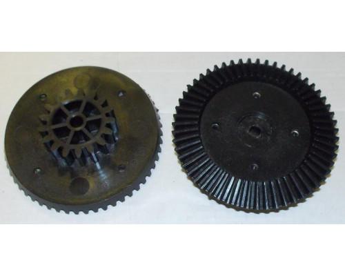Шестерня мясорубки Ротор, черная большая D=83/38, H21 (конич...