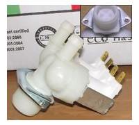 Электроклапан заливной для стиральной машины  2Wx180 замена 481981729015, 481981729024, 481928128203, 481981729331, 481928128223, 62AB312, 16av02, 0300004, AV5202, VAL120UN, DC62-00024M  ЭК-01