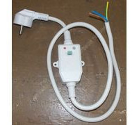 Кабель электрический с УЗО для водонагревателя, LBY-16 ( L-1.1m, 250V,16A) WTH219AR замена 65151728, WTH219AR