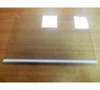 Полка стекло с профилем над ящиком для холодильника ARISTON, INDESIT, STINOL C00257748 C00257748