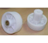 Шестерня для мясорубки Vitek, Panasonic D=52/22 H49/20 d8 с медной втулкой, 16 прямые и 47 косые зубья SMV052 SMV052