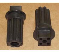 Втулка шнека Braun (черная) BR7002718, BR4195614, br.7002718