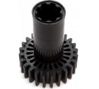 Шестерня Braun большая, черная, 24-зубца D-61.6/30, H81/20, замена7051414, br.4195612, MGR003UN MGR003UN