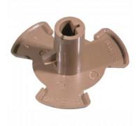 Коплер мотора тарелки(поддона) для микроволновых печей Samsung   Высота - 21 мм Диаметр - 26 мм Диаметр отверстия - 7 мм DE67-00140A, Коды взаимозамены:   DE67-00105A, DE67-60077A, DE67-60077D  DE67-00140A