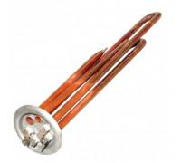 Тэн для водонагревателяTERMEX / ТЕРМЕКС 2,0 кВт. медный (0.7+1.3) медь (L-300мм, 2 трубки для термостата и термозащиты фланец 64 мм оригинальный код: WTH004TX, альтернативные коды: 066052, SPT066052, 182502, WTH014TX ТВН-16