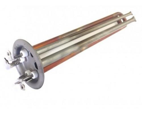 ТЭН для водонагревателя 2000W, медь, Ø64, клеммы под винт М6...